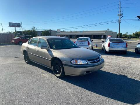 2003 Chevrolet Impala for sale at Lucky Motors in Panama City FL