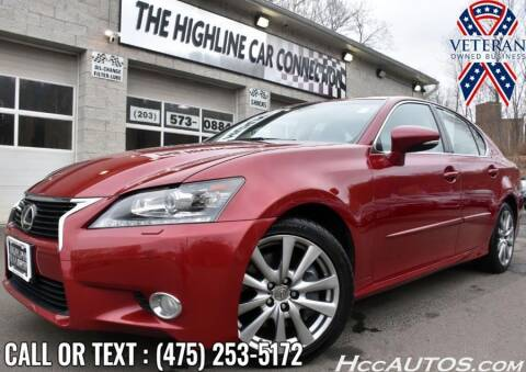 2014 Lexus GS 350 for sale at The Highline Car Connection in Waterbury CT