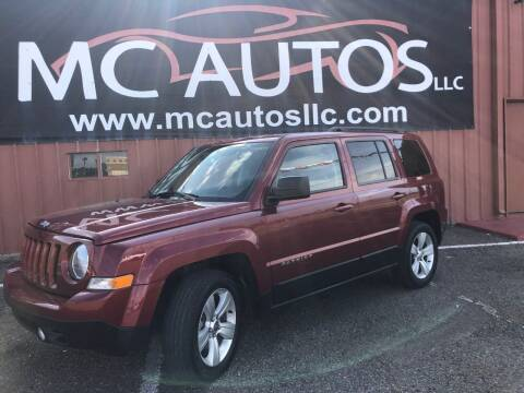 2016 Jeep Patriot for sale at MC Autos LLC in Pharr TX