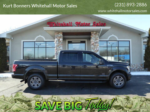 2015 Ford F-150 for sale at Kurt Bonners Whitehall Motor Sales in Whitehall MI