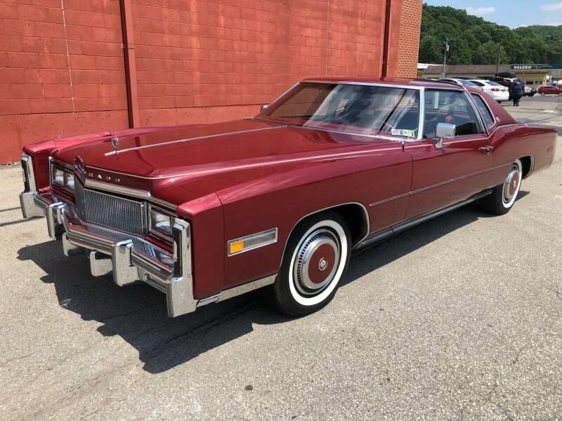 1977 Cadillac Eldorado for sale at ELIZABETH AUTO SALES in Elizabeth PA