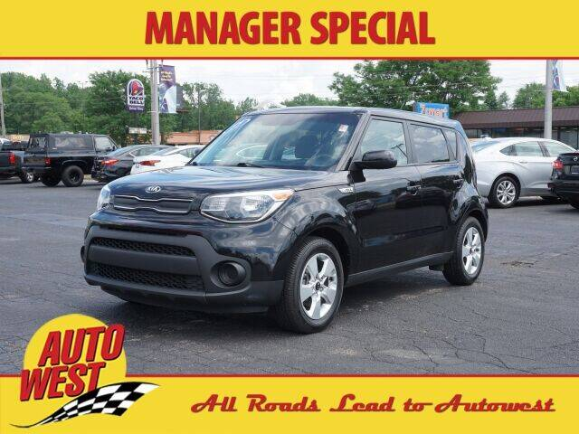 2017 Kia Soul for sale at Autowest of GR in Grand Rapids MI