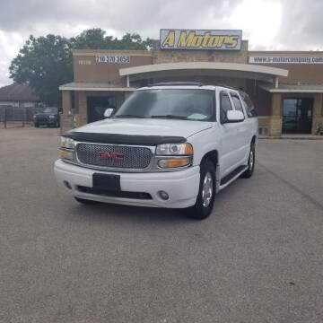 2004 GMC Yukon XL for sale at A MOTORS SALES AND FINANCE - 5630 San Pedro Ave in San Antonio TX