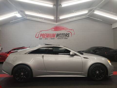 2011 Cadillac CTS for sale at Premium Motors in Villa Park IL
