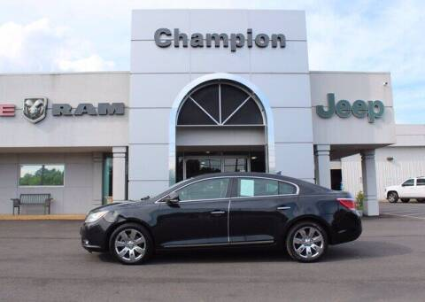 2011 Buick LaCrosse for sale at Champion Chevrolet in Athens AL