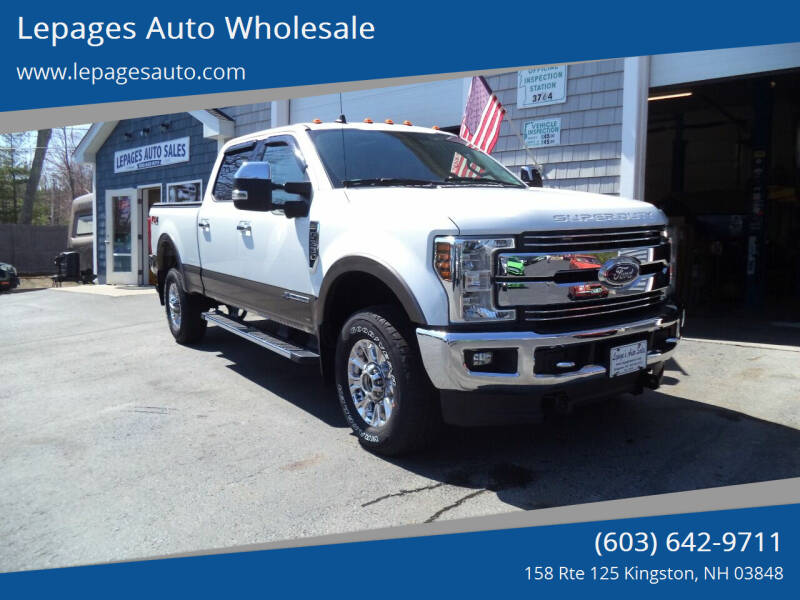 2019 Ford F-350 Super Duty for sale at Lepages Auto Wholesale in Kingston NH