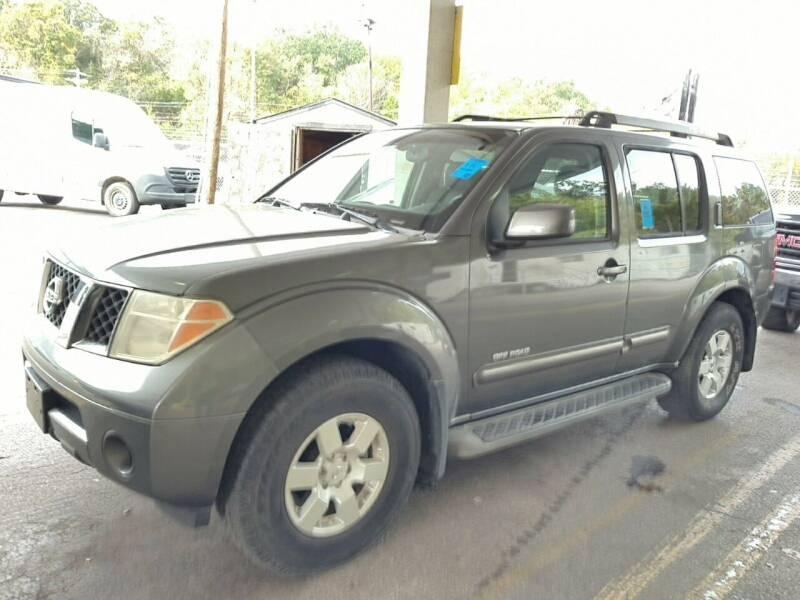2005 Nissan Pathfinder for sale at WENTZVILLE MOTORS in Wentzville MO