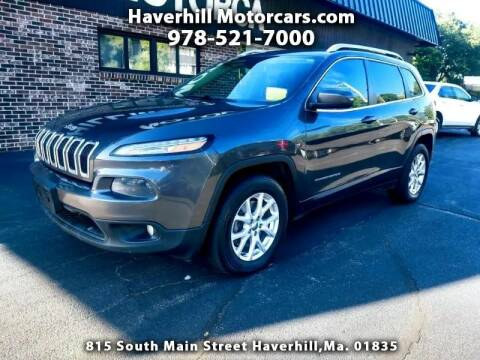 2016 Jeep Cherokee for sale at 125 Auto Finance in Haverhill MA