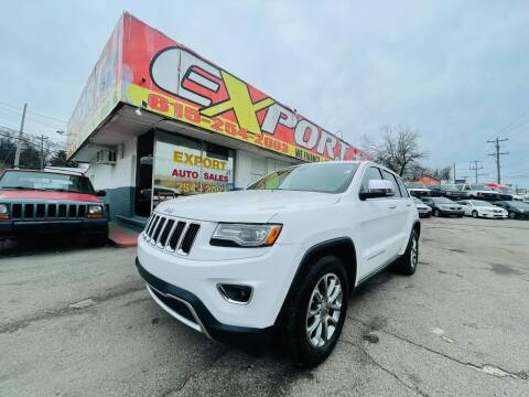 2014 Jeep Grand Cherokee for sale at EXPORT AUTO SALES, INC. in Nashville TN