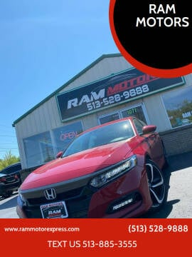 2020 Honda Accord for sale at RAM MOTORS in Cincinnati OH