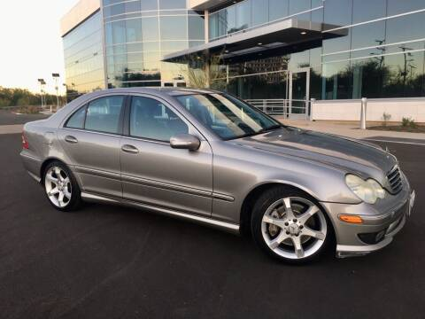 2005 Mercedes-Benz C-Class for sale at San Diego Auto Solutions in Escondido CA