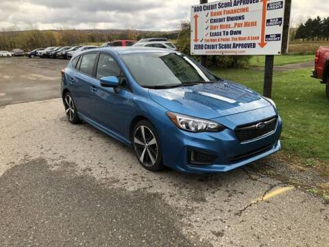 2017 Subaru Impreza for sale at Sensible Sales & Leasing in Fredonia NY