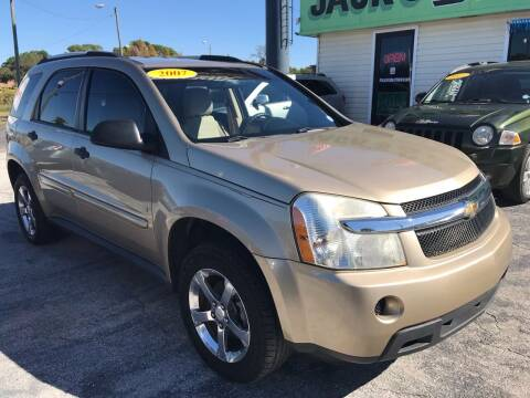 2007 Chevrolet Equinox for sale at Jack's Auto Sales in Port Richey FL