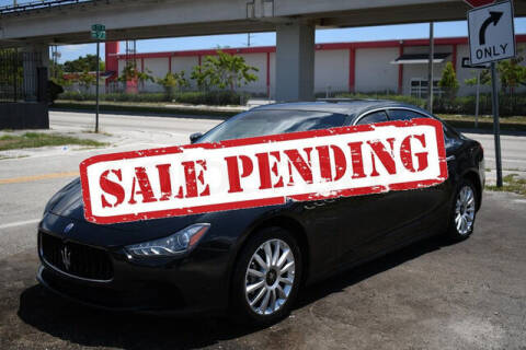 2014 Maserati Ghibli for sale at ELITE MOTOR CARS OF MIAMI in Miami FL