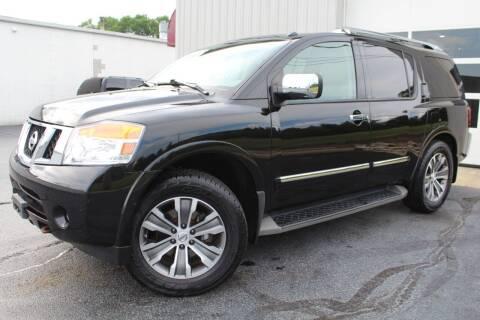 2015 Nissan Armada for sale at Platinum Motors LLC in Reynoldsburg OH