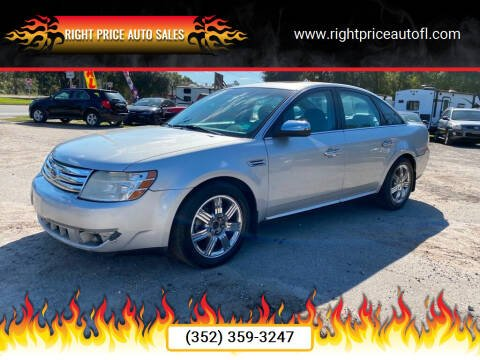2009 Ford Taurus for sale at Right Price Auto Sales in Waldo FL