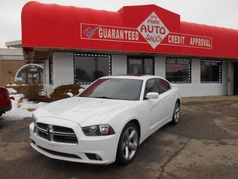 2013 Dodge Charger for sale at Oak Park Auto Sales in Oak Park MI