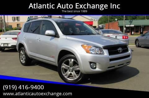 2011 Toyota RAV4 for sale at Atlantic Auto Exchange Inc in Durham NC