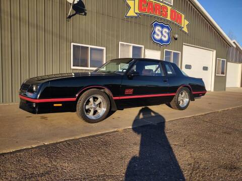 1987 Chevrolet Monte Carlo for sale at CARS ON SS in Rice Lake WI