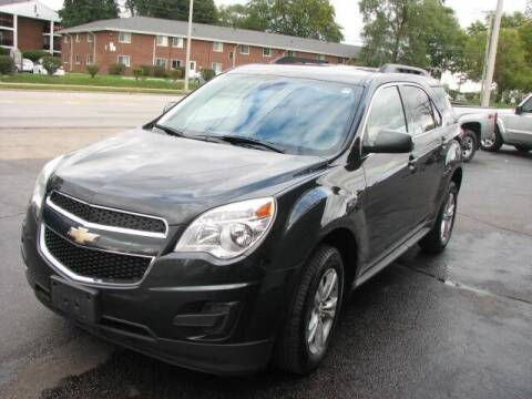 2013 Chevrolet Equinox for sale at TOP YIN MOTORS in Mount Prospect IL