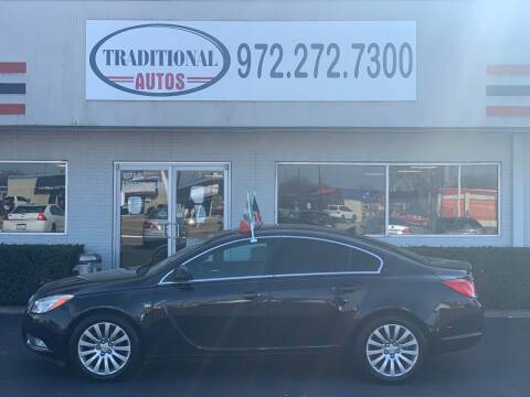 2011 Buick Regal for sale at Traditional Autos in Dallas TX