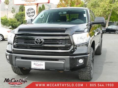 2017 Toyota Tundra for sale at McCarthy Wholesale in San Luis Obispo CA