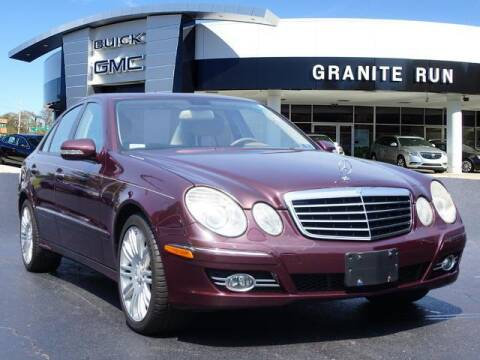 2008 Mercedes-Benz E-Class for sale at GRANITE RUN PRE OWNED CAR AND TRUCK OUTLET in Media PA