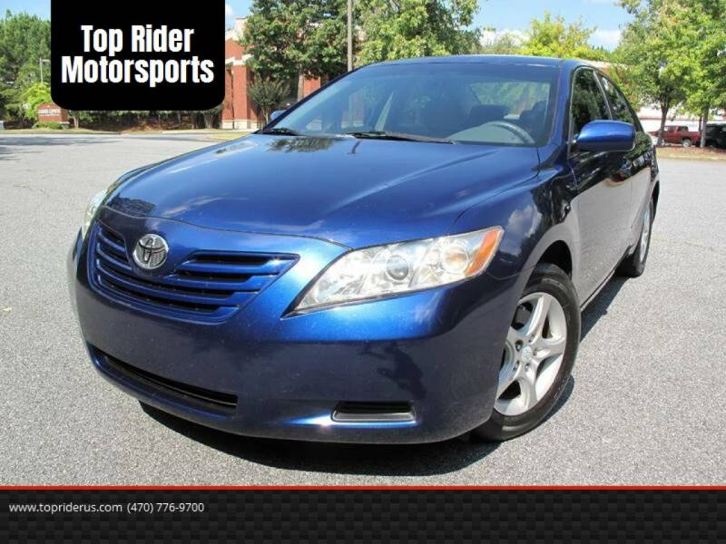2009 Toyota Camry for sale at Top Rider Motorsports in Marietta GA