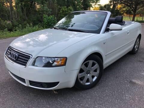 2003 Audi A4 for sale at Next Autogas Auto Sales in Jacksonville FL