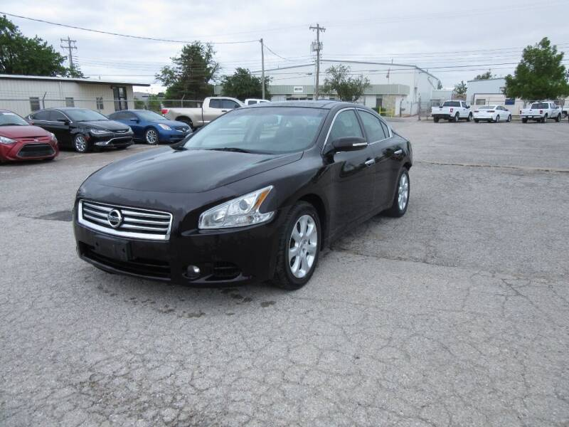 2014 Nissan Maxima for sale at Grays Used Cars in Oklahoma City OK