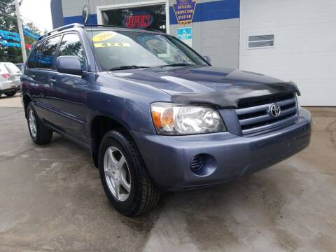 2006 Toyota Highlander for sale at Fleetwing Auto Sales in Erie PA