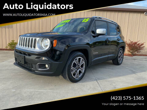 2015 Jeep Renegade for sale at Auto Liquidators in Bluff City TN