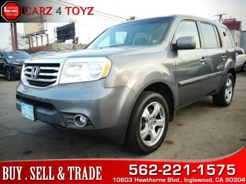 2012 Honda Pilot for sale at Carz 4 Toyz in Inglewood CA
