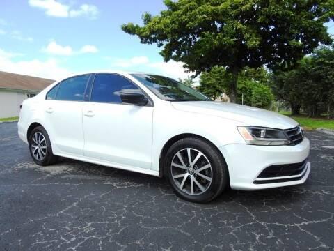 2016 Volkswagen Jetta for sale at SUPER DEAL MOTORS 441 in Hollywood FL