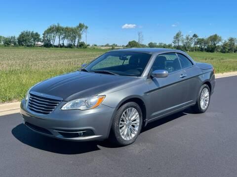 2012 Chrysler 200 Convertible for sale at Geneva Motorcars LLC in Delavan WI