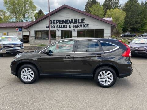 2015 Honda CR-V for sale at Dependable Auto Sales and Service in Binghamton NY