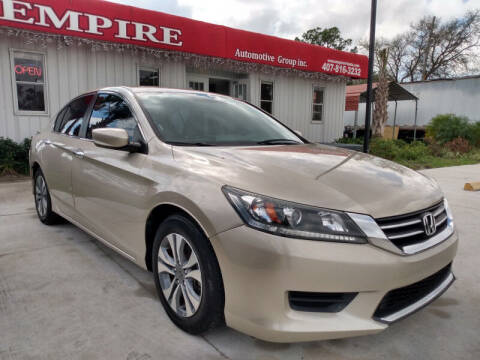 2015 Honda Accord for sale at Empire Automotive Group Inc. in Orlando FL