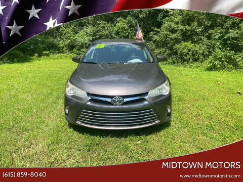 2015 Toyota Camry for sale at Midtown Motors in Greenbrier TN