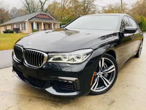 2016 BMW 7 Series for sale at Cobb Luxury Cars in Marietta GA