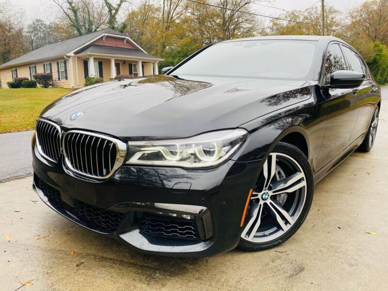 2016 BMW 7 Series for sale at Cobb Luxury Cars in Marietta GA