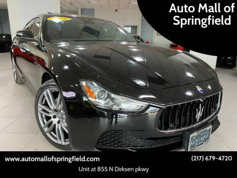 2017 Maserati Ghibli for sale at Auto Mall of Springfield in Springfield IL