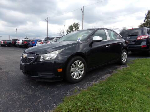 2011 Chevrolet Cruze for sale at Pool Auto Sales Inc in Spencerport NY