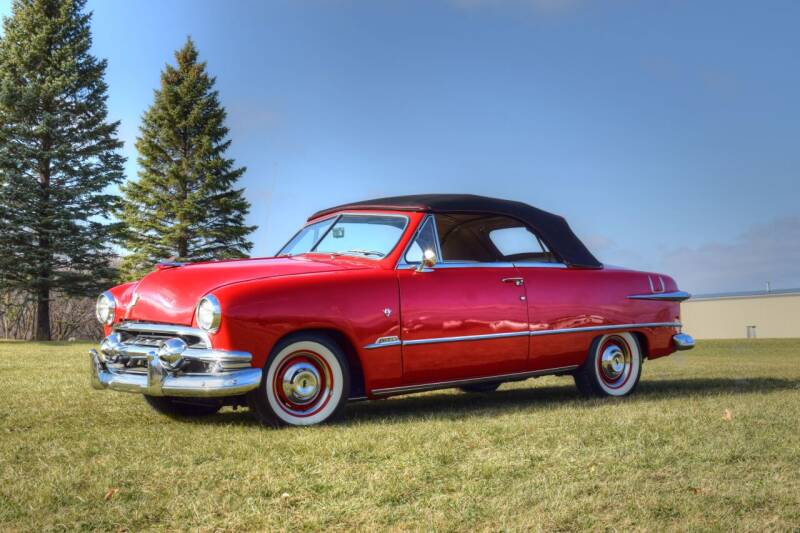 1951 Ford Convertible  for sale at Hooked On Classics in Watertown MN