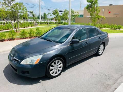 2007 Honda Accord for sale at LA Motors Miami in Miami FL