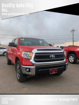 2015 Toyota Tundra for sale at Quality Auto City Inc. in Laramie WY