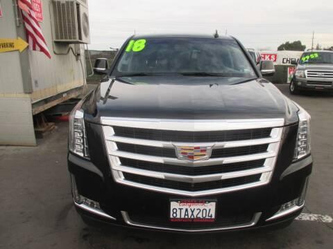 2018 Cadillac Escalade for sale at Quick Auto Sales in Modesto CA
