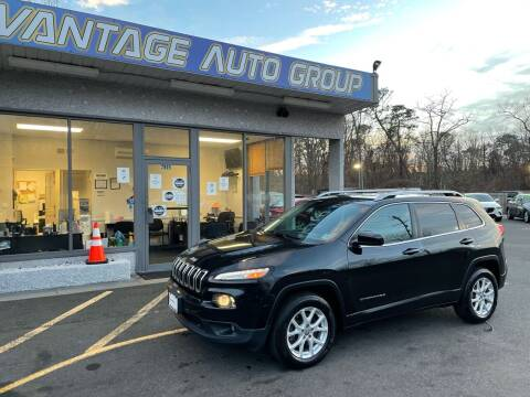2015 Jeep Cherokee for sale at Vantage Auto Group in Brick NJ