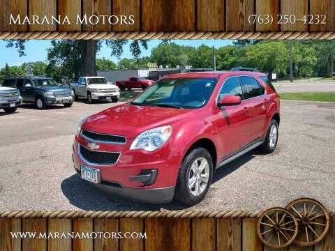 2013 Chevrolet Equinox for sale at Marana Motors in Princeton MN