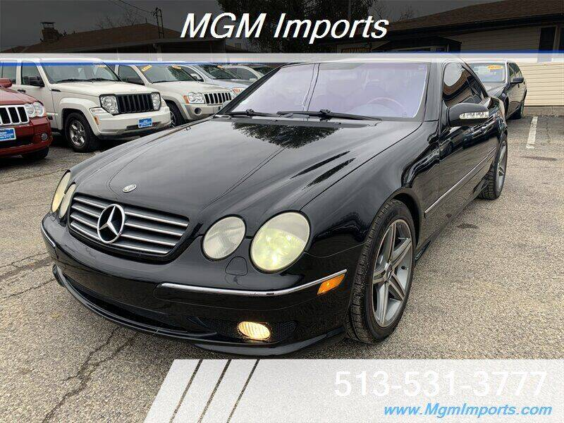 2002 Mercedes-Benz CL-Class for sale at MGM Imports in Cincannati OH