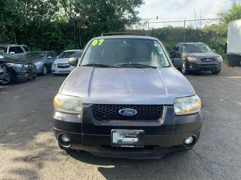 2007 Ford Escape for sale at 77 Auto Mall in Newark NJ